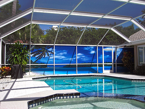 PATIO SCENE SCREEN INSTALL Tampa Bay