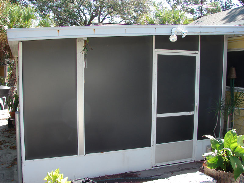 Pool Privacy Screen Of Our Services Tampa Bay Screen Repair Screen Enclosures